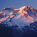 1m4876-sunset On Mt. Rainier  by Ed  Cooper Photography