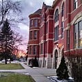 Sunset On Old Main by Rick Karboviak