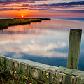 Sunset On Pamlico Sound by Eric Albright