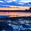 Sunset On Porcupine Lake by Elaine Berger
