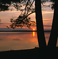Sunset On Sister Bay by Sandra Bronstein