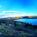 Sunset On Skaha Lake by James Bauman