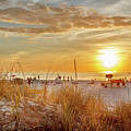 Sunset On St Pete by Chris Farr