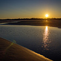 Sunset On St. Simons Island by William Haas