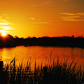 Sunset On The Alafia by Allen Williamson