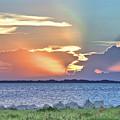 Sunset On The Banana River by Gordon Elwell