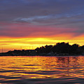 Sunset On The Bay Island Heights Nj by Terry DeLuco