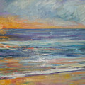 Sunset On The Beach by Lisa McKnett