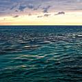 Sunset On The Caribbean by Lars Lentz