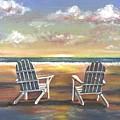 Sunset On The Gulf Coast by Joseph Schilling