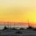 Sunset On The Gulf by Peg Runyan
