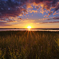 Sunset On The Marsh by Joseph Rossbach
