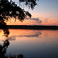 Sunset On The Ogeechee by J M Farris Photography