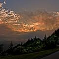 Sunset On The Parkway by Barbara Hayton