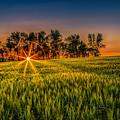 Sunset On The Prairie by Rikk Flohr