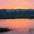 Sunset On The Refuge by Steven Clark