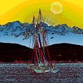 Sunset On The Sound by Tim Allen