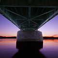 Sunset On The Susquehanna by Jim Cheney
