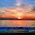 Sunset On The Water by Anthony Caruso