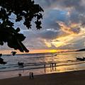 Sunset Over Ao Nang Beach Thailand by Nicholas Braman