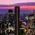 Sunset Over Bangkok by Fabrizio Troiani