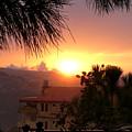 Sunset Over Bcharre, Lebanon by MCWorldEnt