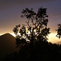 Sunset Over Benog Hill by Padamvir Singh