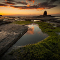 Sunset Over Black Nab by Mark Heslington