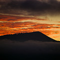 Sunset Over Cataloochee Valley by Richard Steinberger