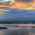Sunset Over Hilo by Susan Rissi Tregoning