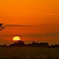 Sunset Over Horicon Marsh by Steve Gadomski
