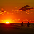 Sunset Over Indiana Dunes by Ron Pate