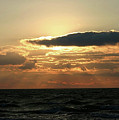 Sunset Over Lake Michigan by Vincent Duis