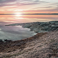 Sunset Over Lake Vanern, Sweden by Marcus Lindberg