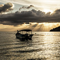 Sunset Over Langkawi In Malaysia by Didier Marti