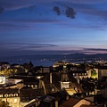 Sunset Over Lausanne   by Didier Marti