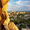 Sunset Over Les Baux by Brian Jannsen