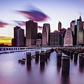 Sunset Over Manhattan by Alissa Beth Photography