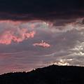 Sunset Over Mount Sanitas by Marie-Dominique Verdier