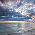 Sunset Over Naples Beach II by Brian Jannsen