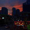 Sunset Over Nashville by Susanne Van Hulst