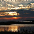 Sunset Over Navarre by David Campbell