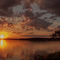 Sunset Over Shark River by Joe Valencia