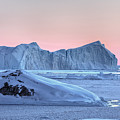 sunset over the Icefjord - Greenland by Joana Kruse