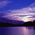 Sunset Over The Intercoastal by Tobi Czumak