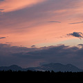 Sunset Over The Kamnik Alps by Ian Middleton