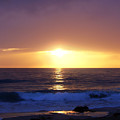 Sunset Over The Pacific by Phil Perkins