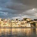 Sunset Over Udaipur by Didier Marti