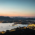 Sunset Over Udaipur In India by Didier Marti