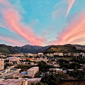 Sunset Over Uh Manoa by Jason Keinigs